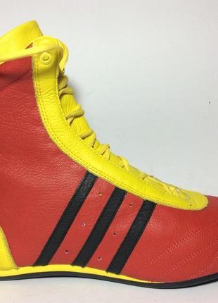 Борцовки боксерки adidas оригінал шкіряні (розміра :37,38,39,4...