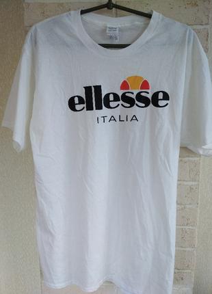 Белая футболка ellesee