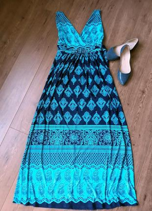 Платье в пол с открытой спиной размер xl
