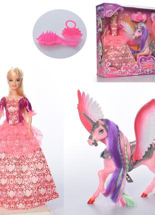 Кукла с единорогом 68240