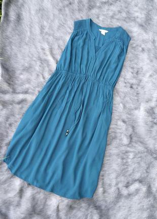 Black friday sale до -60% платье из натуральной вискозы h&m