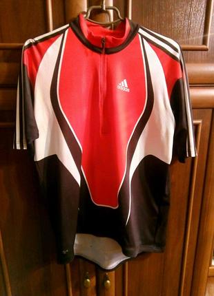 Футболка велосипедка Adidas!