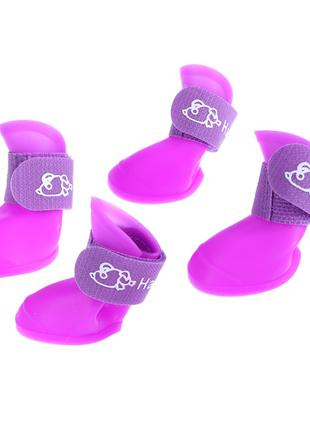 Резиновые сапожки размер L.  Обувь для собак