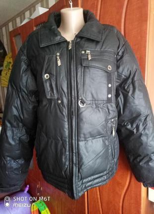 Крутая зимняя термо куртка пуховик дутик saz тинсулейт