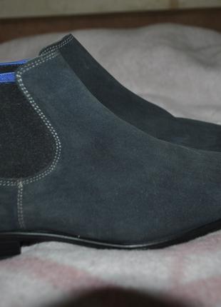 Сапоги ботинки нат кожа Италия