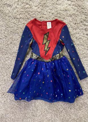 Карнавальное платье супер герой