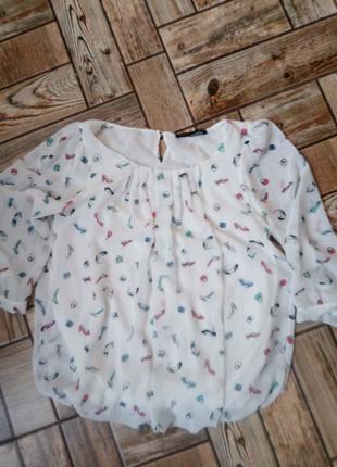 Шикарна фірмова блузочка XS