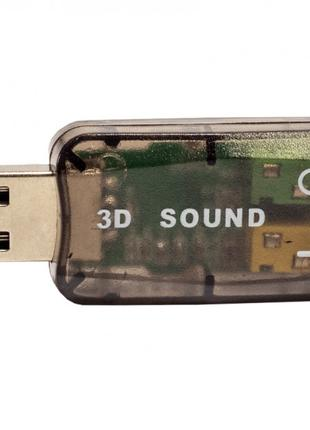 Внешняя Звуковая карта USB Быстрая Замена Сгоревшей Звуковая Карт