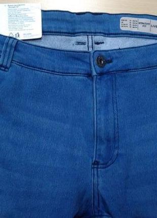 Джинсы, брюки, мужские, livergy, голубые, большого размера, 64...
