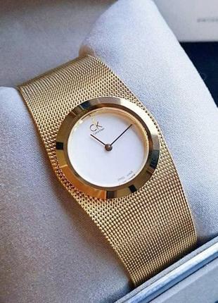 - %   женские швейцарские часы calvin klein impulsive k3t235 (...