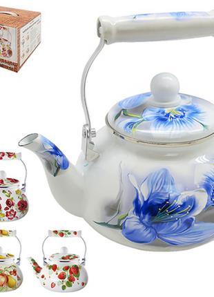 Чайник эмаль 2.1л MH-3590