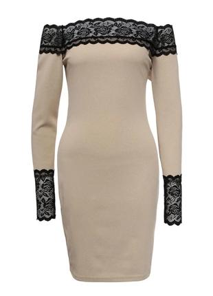 🔥платье на новый год 🎄❗️ облегающее платье с кружевом новое❗️❗...