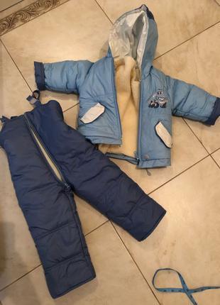 Комбинезон зимний, зимняя куртка детская