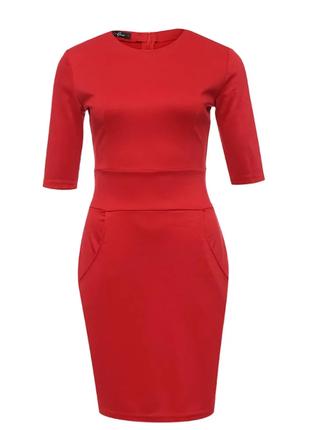 🔥платье на новый год 🎄❗️ приталенное классическое платье, ново...