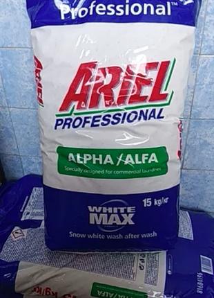 Стиральный порошок Ariel Professional alpha, мешок 15 кг. Ариель