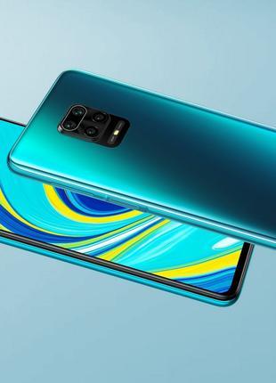 Xiaomi Redmi Note 9S 6/128Gb Aurora Blue. Смартфон Xiaomi