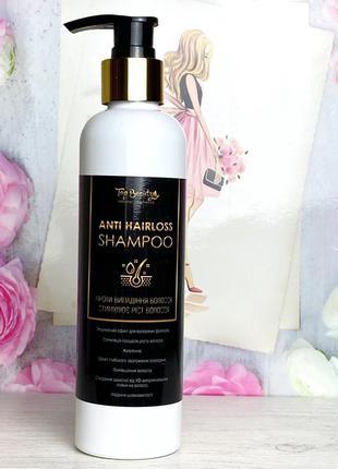 Безсульфатный шампунь против выпадения волос top beauty к. 10431
