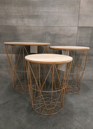 Стол-корзина Ikea, журнальный столик, для кофе/чая