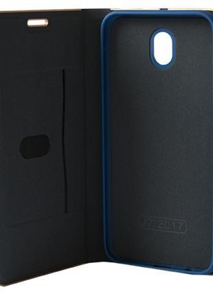 Чехол-книжка Samsung Galaxy J5 (2017) J530 синяя Florence TOP №2
