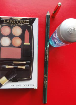Lancome: набор нов. комп, карандаш (большой), жидкость Bi-Faci.