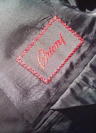 BRIONI Nomentano black unlined suit