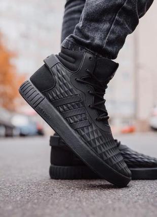 Adidas tubular термоутеплення 🍏 зимние мужские кроссовки адидас