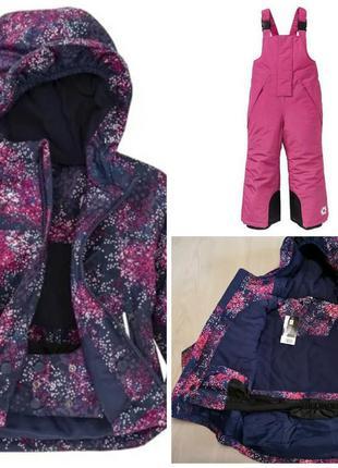 Зимний комплект термокомбинезон и куртка crivit pro lupilu