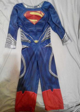 Карнавальный костюм Супермен мальчику 3 - 4 лет