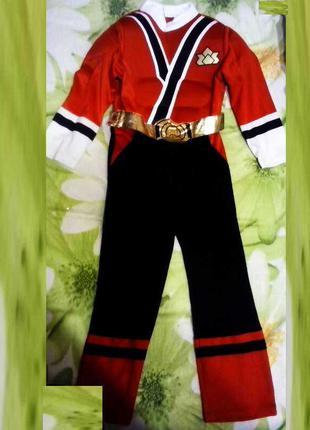 Карнавальный костюм Спасатель, Пожарный мальчику 5 - 6 лет