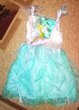 Карнавальный костюм Снежинка девочке 5 - 6 лет