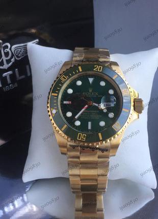 Механические часы  submariner date gold