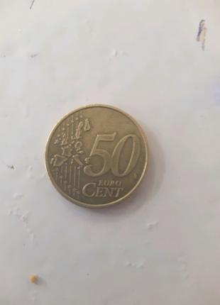 50 euro cent 2002 р.