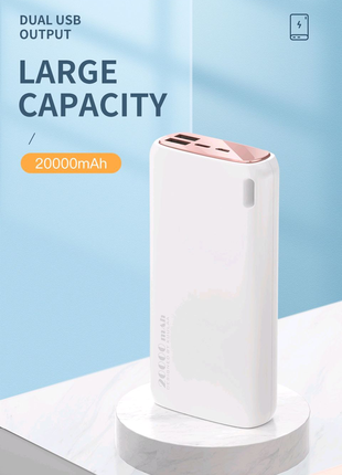 Power Bank 20000mAh KUULAA Повербанк Powerbank Павербанк