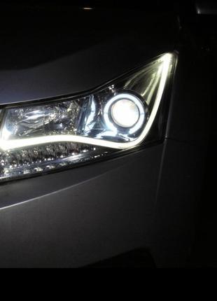 Альтернативная передняя и задняя оптика Chevrolet Cruze