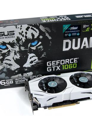 Видеокарта ASUS Geforce GTX 1060 6Gb