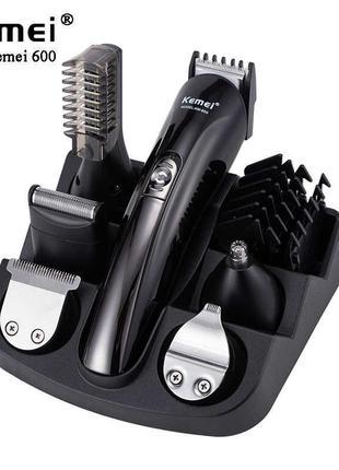 Машинка триммер для стрижки волос KEMEI KM-600