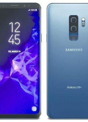 "Samsung Galaxy S9+ 5, 8"" 12 Ядер 4G 1, 4Гб/124Гб+256Гб 8Мп/12М..."