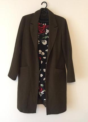 Пальто осіннє пальто прямого крою