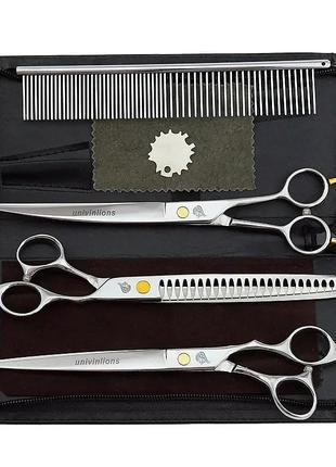 Набiр ножиць для грумінга груминг ножиці ножницы стрижки животних