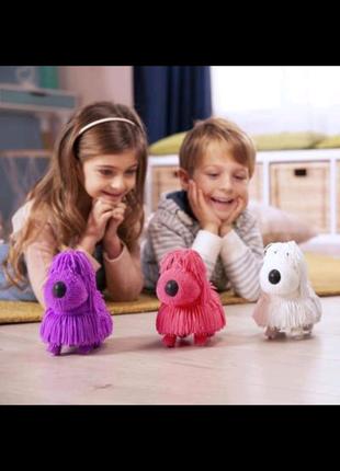 Интерактивная игрушка Jiggly Pup Озорной щенок Голубой (JP001-WB-