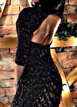 Платье с открытой спиной, Zara , нарядное