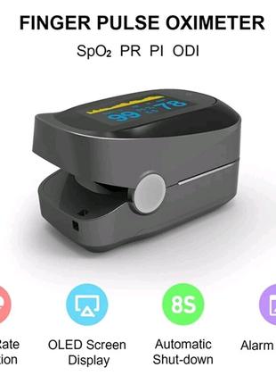 Пульсоксиметр  для измерения пульса и сатурации крови IMDK Medica
