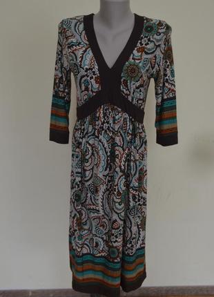 Очень красивое брендовое трикотажное платье из вискозы длинный...