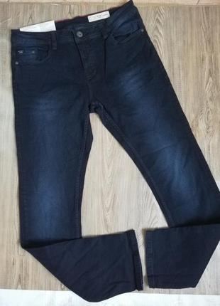 Мужские темно-синие джинсы livergy 52(36/34)