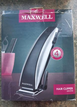 """Машинка для стрижки """" Maxwell"""" Кіпр."""