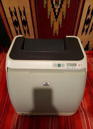 Принтер лазерный цветной HP Color LaserJet 2600n Lan Сетевой c ка
