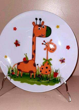 Набор детской посуды фарфоровый