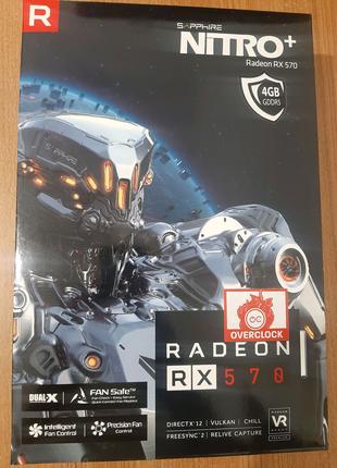 Відеокарта RX 570 4GB