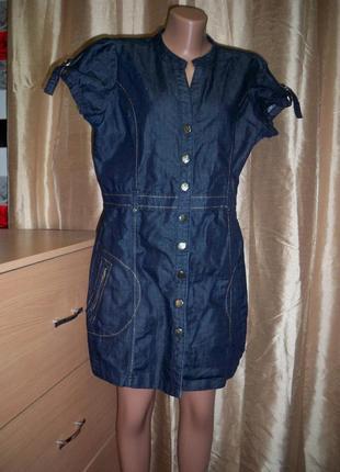 Фірмове джинсове плаття matalan, 18, китай.