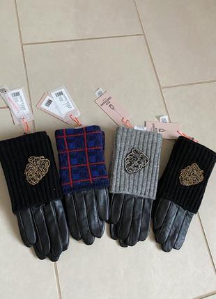 Перчатки кожаные премиум класса размер 7-7,5 becksondergaard
